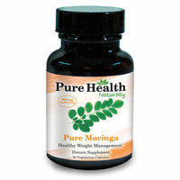 GENESIS TODAY INC. Pure Health Naturally Pure Moringa Healthy Weight Management Dietary Supplement Capsules