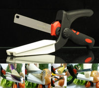 Aga Warehouse Co., Inc. 2 in 1 Kitchen Shears and Paring Knife