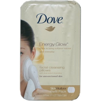 Dove Energy Glow Brightening Facial Cleansing Pillows