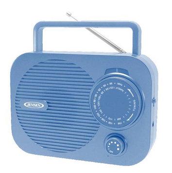 Jensen Mr-550-bl Portable AM/FM Radio, Blue