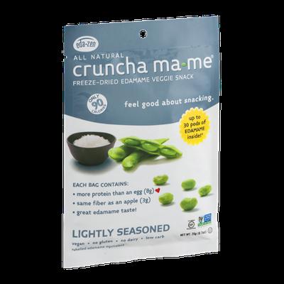 Cruncha Ma-Me Freeze-Dried Edamame Veggie Snack Lightly Seasoned