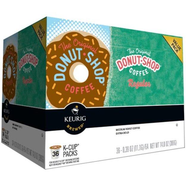 Keurig Donut Shop Medium Roast Coffee K-Cups 36 ct