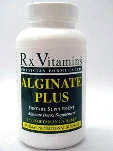 Rx Vitamin's Alginate Plus 120 vcaps