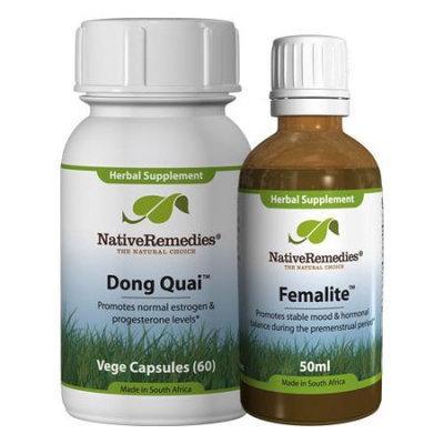 Native Remedies Native Remedies PMS Relief ComboPack - Dong Quai + Femalite