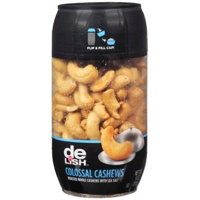 Good & Delish Colossal Cashews, Roasted, 9 oz