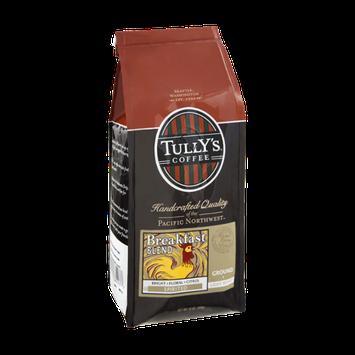 Tully's Coffee Breakfast Blend Light Roast Ground Coffee