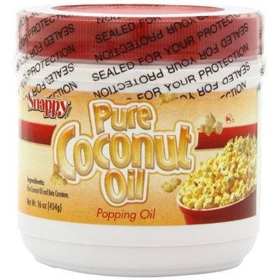 Snappy Popcorn Supplies, Colored Coconut Oil, 1 Pound