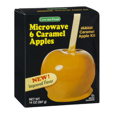 Concord Foods Microease Caramel Apple Kit