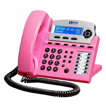 XBlue X16 Pink Telephone 1 Handset 6 Line Landline Telephone H3C0E0U3N-1922