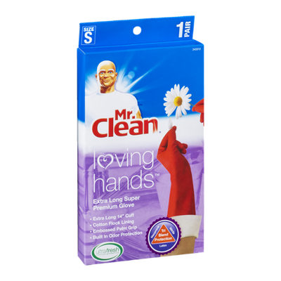 Mr. Clean Loving Hands Premium Glove Extra Long Size
