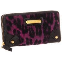 Juicy Couture Wild Things YSRU2328 Wallet,Purple Leopard,One Size