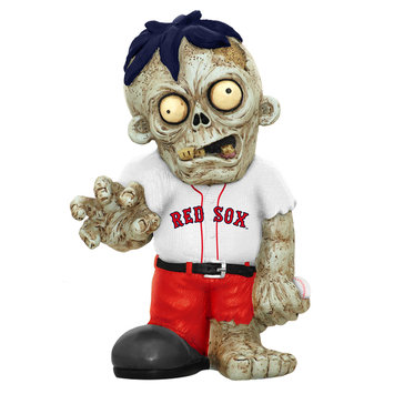 Recaro North Forever Collectibles MLB Resin Zombie Figurine, Boston Red Sox