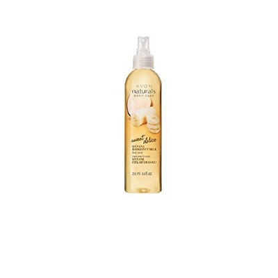 Avon Naturals Banana & Coconut Milk Body Spray 8.4 fl oz