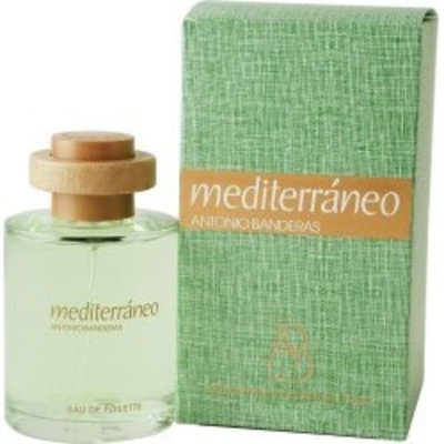 Mediteraneo By Antonio Banderas For Men. Eau De Toilette Spray 3.4 Ounces