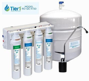 ROQC-450 Tier1 4-Stage Quick Change Reverse Osmosis Water Filter System