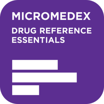 Truven Health Analytics Inc. Micromedex Drug Reference Essentials