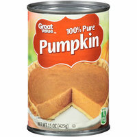 Great Value 100% Pure Pumpkin