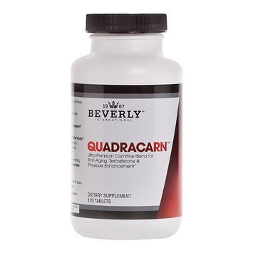 Beverly International Quadracarn 120 Tablets