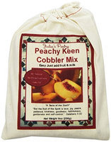 Peach Cobbler Mix 9oz cloth bag