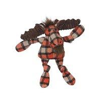 HuggleHounds Plaid Moose Knottie