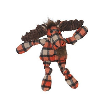 HuggleHounds Plaid Moose Knottie