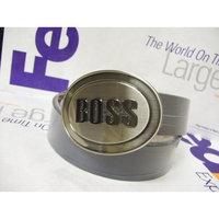 Handy Solutions HUGO BOSS MEN's BELT BUCKLE WITH LEATHER BELT/STRAP By BOSS