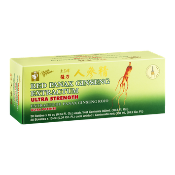 Prince of Peace Red Panax Ginseng Extractum Ultra Strength Dietary Supplement - 30 CT
