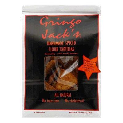 Gringo Jacks Tortilla Chip Flour Spiced, Pack of 12