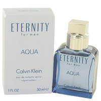 Eternity Aqua By Calvin Klein -1 Oz Eau De Toilette Spray-Men