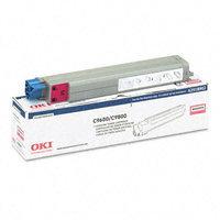 Okidata Corporation 42918902 Toner Cartridge, Magenta - OKIDATA