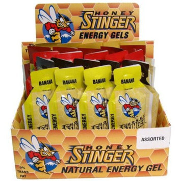 Honey Stinger Energy Gel Assorted Flavors, Box of 24