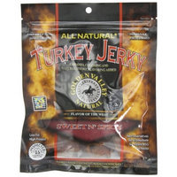 Golden Valley Natural Turkey Jerky, Sweet N' Spicy, 3.25-Ounces Pouches (Pack of 8)