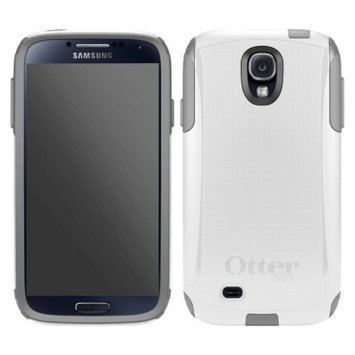 Otterbox Commuter Cell Phone Case for Samsung Galaxy SIV - White