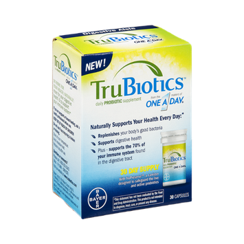 TruBiotics Probiotic Supplement Capsules