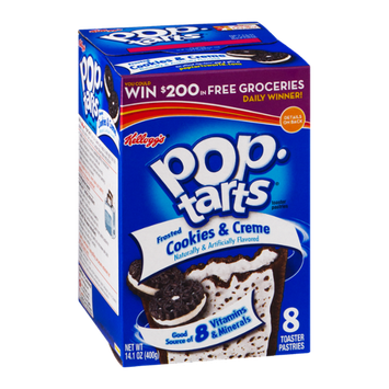 Kellogg's Pop-Tarts, Frosted Cookies & Cream
