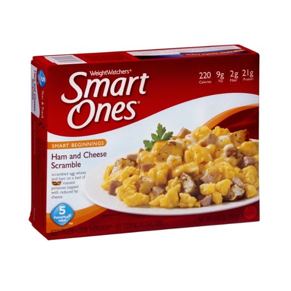 Weight Watchers Smart Ones Smart Beginnings Ham and Cheese Scramble