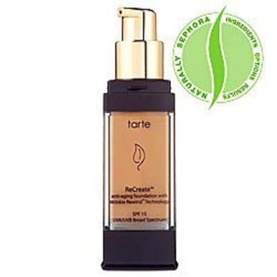 tarte ReCreate Anti-Aging Foundation with Wrinkle Rewind Technology SPF 15