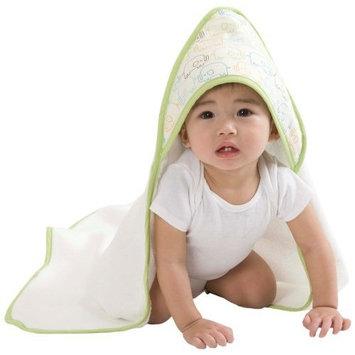 Zutano Elephant Infant Towel and Washcloth Set