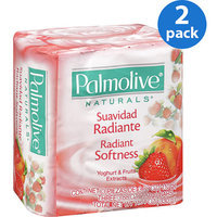 Palmolive® Naturals Radiant Softness Yogurt & Fruit Extracts Bar Soap
