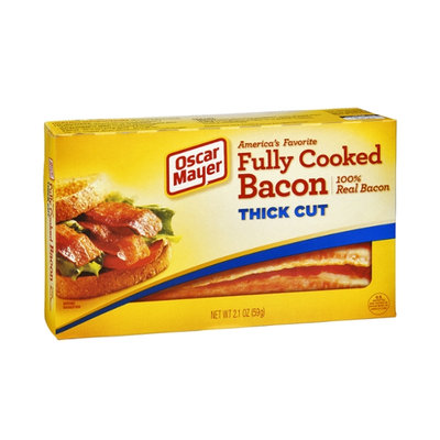 Oscar Mayer 100% Real Thick Cut Fulley Cooked Bacon