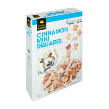 Clover Valley Cinnamon Mini Squares Cereal - 12.8 oz