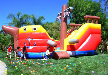 Cam Consumer Products, Inc. DuraLite 15' Pirate Ship Slide
