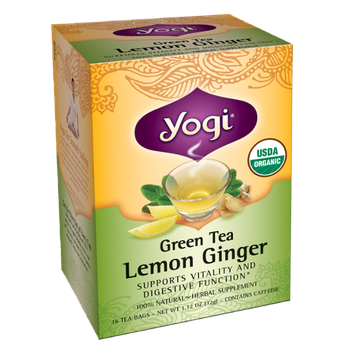 Yogi Green Tea Lemon Ginger Tea
