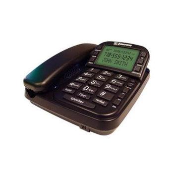 Southern Telecom SO-EM2650BK Big Button Speakerphone Cid