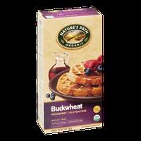 Nature's Path Organic Wheat & Gluten Free Waffles Buckwheat Wildberry - 6 CT