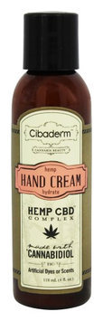 Cibaderm - Hemp Hydrate Hand Cream - 4 oz.
