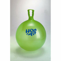 Gymnic 22'' Hop On Air Ball in Translucent Green