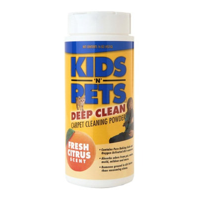 Kids'N Pets Deep Clean Carpet Powder