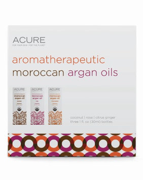 Aromatherapeutic Argan Trio Set Acure Organics 3 -1 oz Bottles Kit