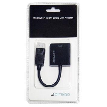 Cirago DisplayPort to DVI Single Link Passive Adapter